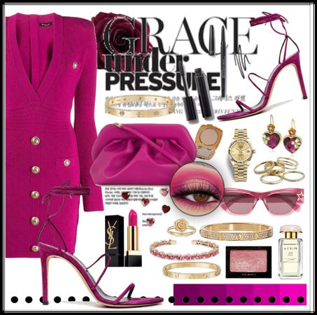 Monochrome:pink