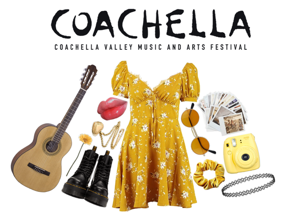 COACHELLA OUTFIT : The Flower Child