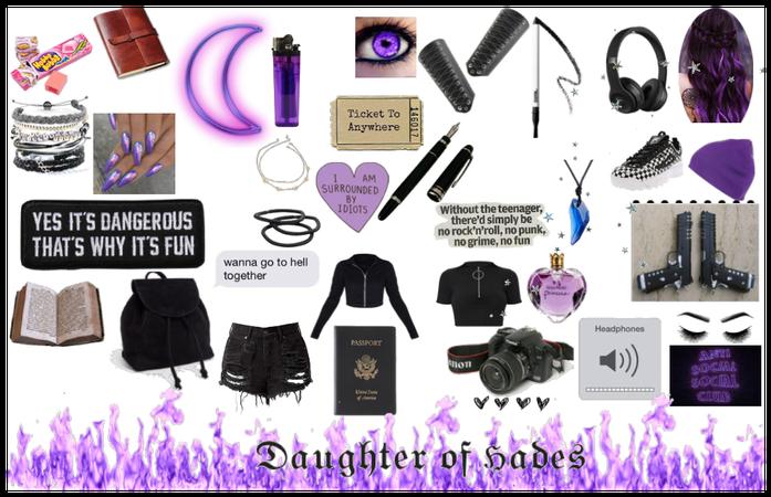 CAMP HALF-BLOOD - Daughter of Hades