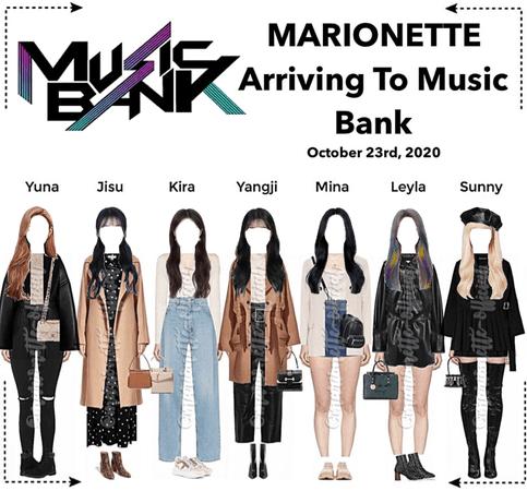MARIONETTE (마리오네트) Arriving at Music Bank | ❝𝐖 𝐈 𝐒 𝐇❞ - FESTA 2020