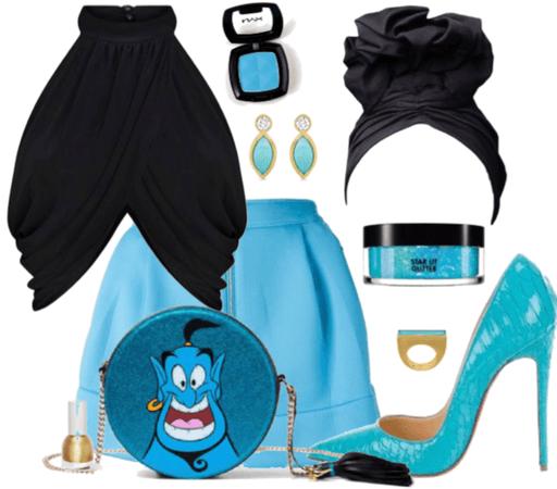 Genie Disney Bound