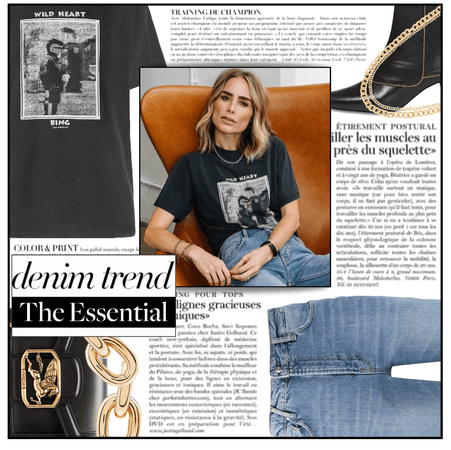 Fashion File: Black Graphic Tee & Essential Jeans - Contest