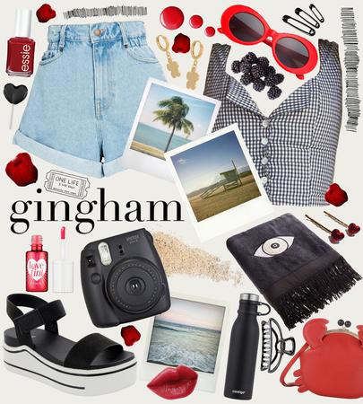 Red Summer - Gingham