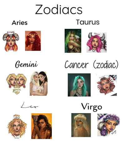 Zodiac signs #1