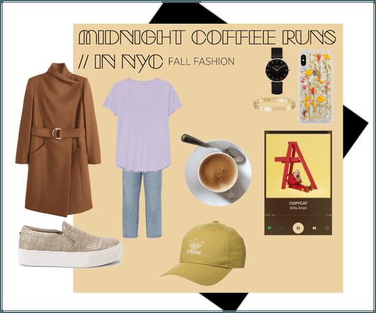 Midnight Coffee Runs // In NYC (Fall)
