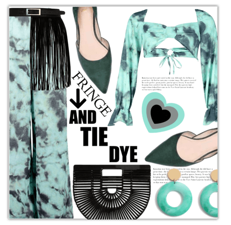 Tie Dye and Fringe!