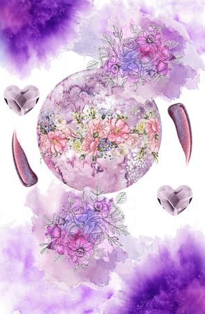 Purple Moon Moodboard