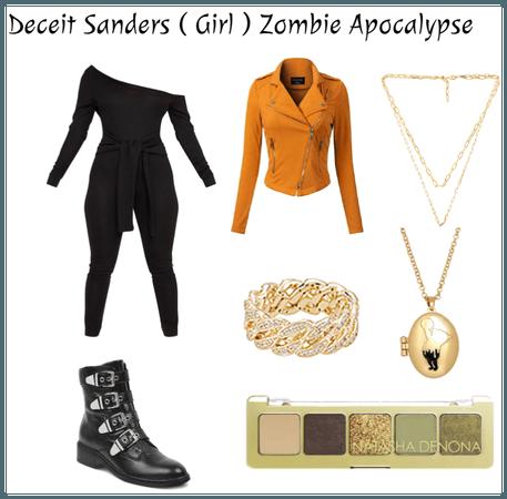 Deceit Sanders ( Girl ) Zombie Apocalypse