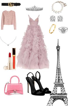 a Paris party