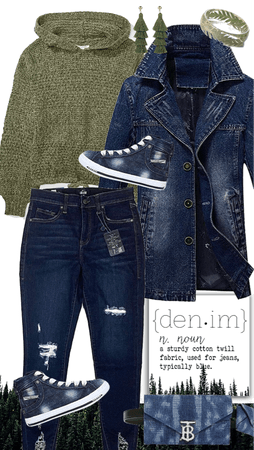 Denim and the Forest