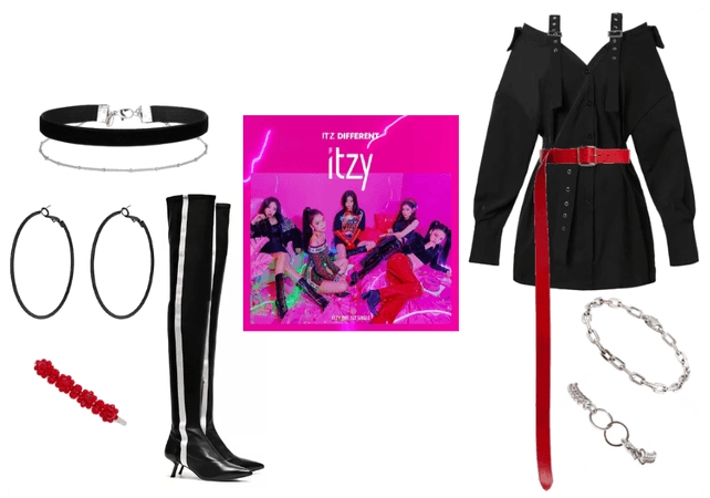 IT'z DIFFERENT Single Album Cover Outfit