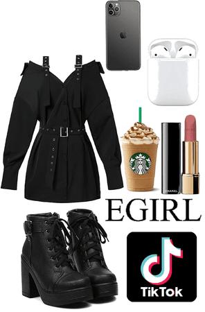 tik tok E-Girl outfit