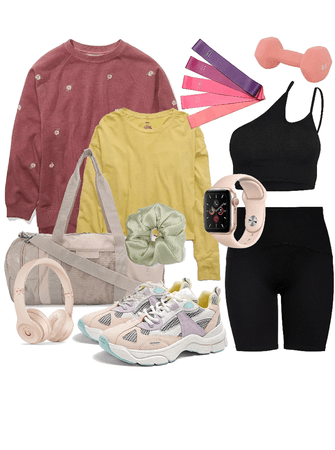 too stylish to actually be a gym rat