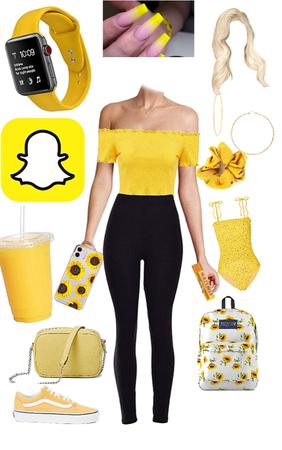 yellow sun ☀️