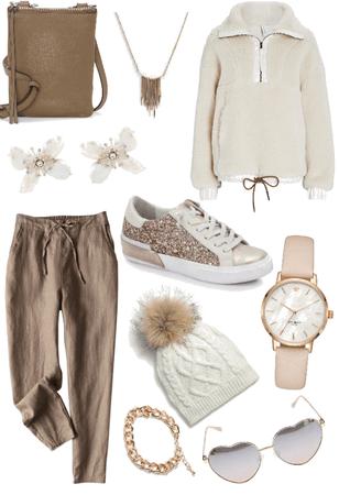 beige comfy