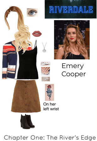 Riverdale: Emery Cooper (Read the d!)