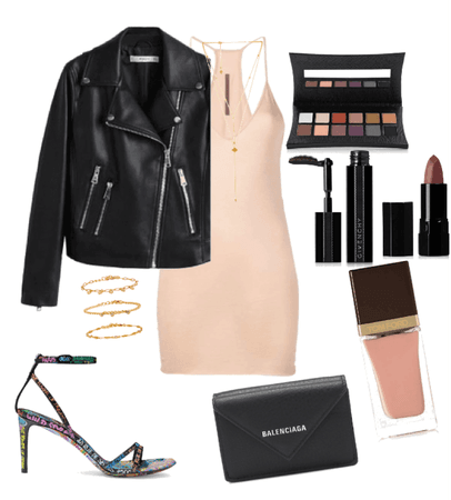 edgy with a hint of chic👄