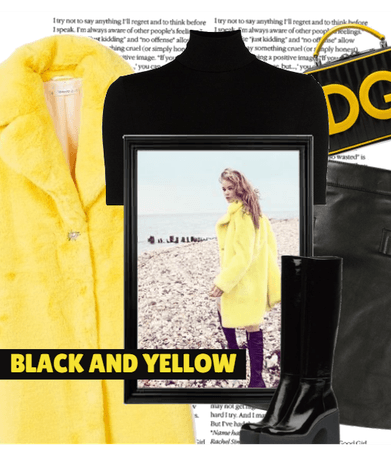 BLACK AND.. YELLOW
