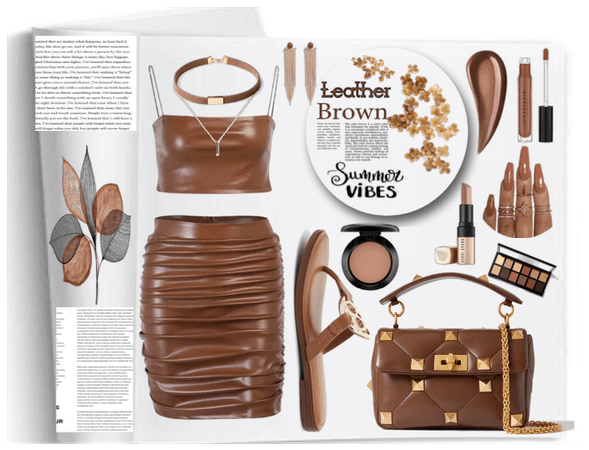 Leather Brown Summer vibes