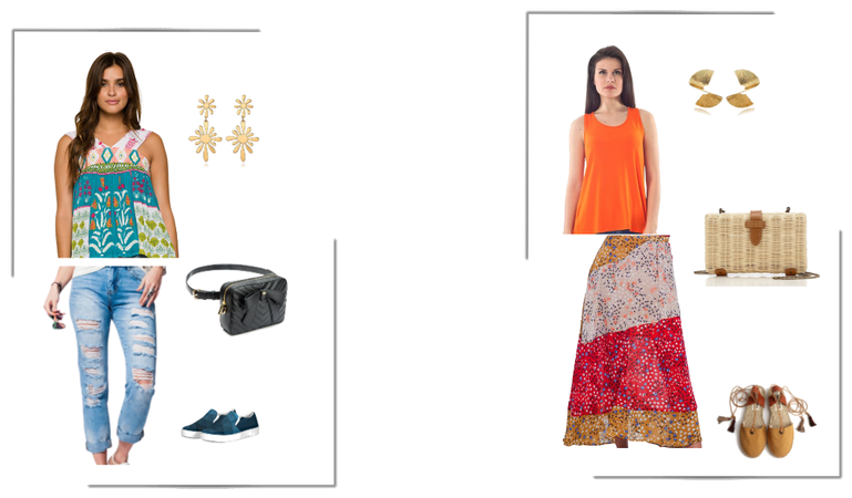 Analogous Color Outfits