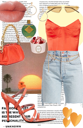 sassy sunset outfit