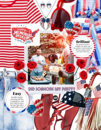 Get The Look: Memorial Day Cookout