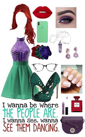 if Ariel was a human