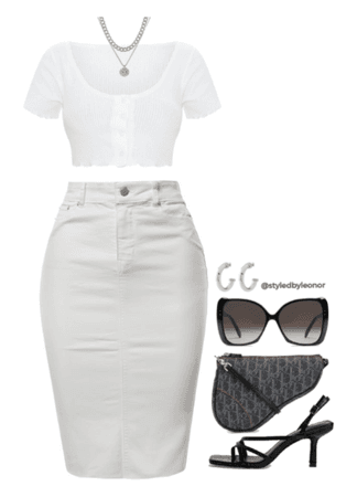 Classic White Outfit