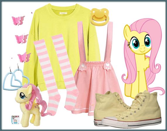 Fluttershy My Little Pony (Littlespace)