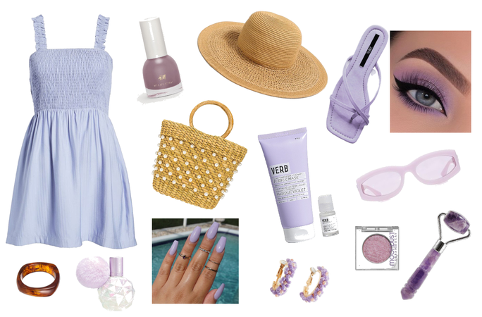 Summer Purples Outfit Challenge