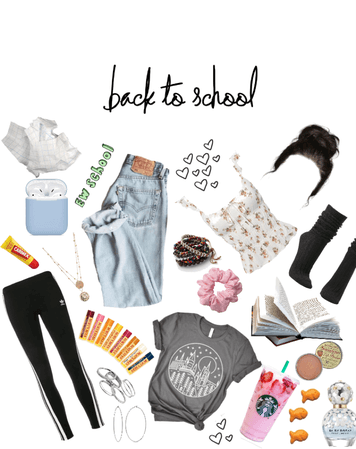 BACK TO SCHOOL SHOPPING LIST(ok, I got a little carried away)