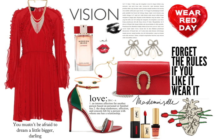 Red Style (Wear Red day)