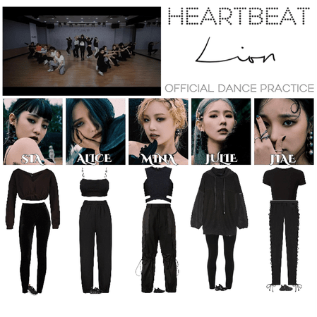 [HEARTBEAT] 'LION' OFFICIAL DANCE PRACTICE