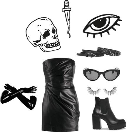 black goth vibe