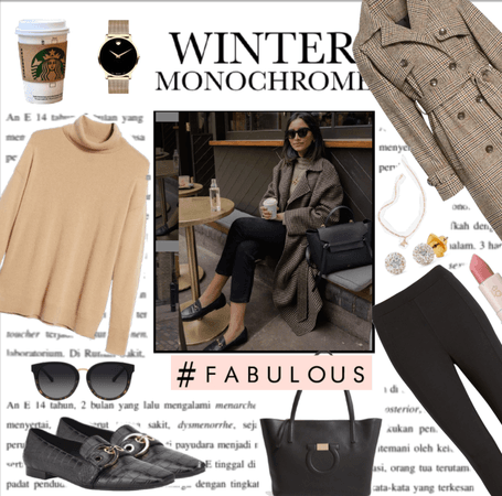 Winter Monochromed!