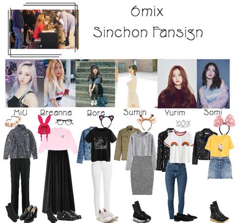 《6mix》Sinchon Fansign