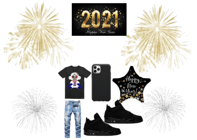 2021 OUTFIT HAPPY NEW YEARS