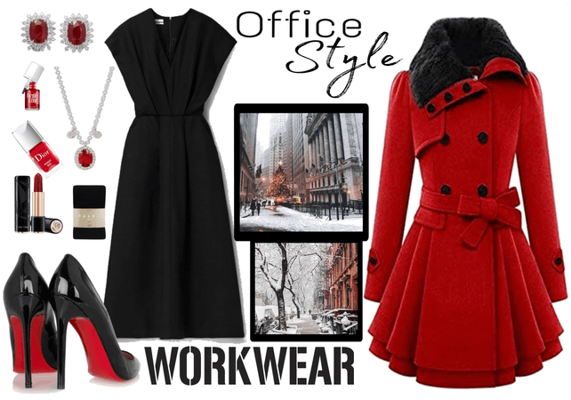 Winter Office Outfit