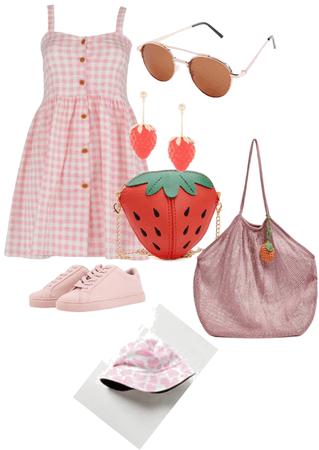 strawberry spills the tea