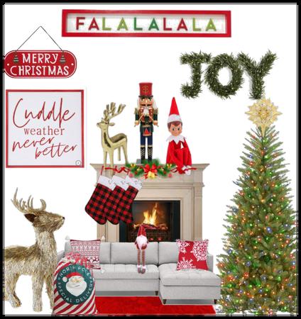 Christmas home decor challenge