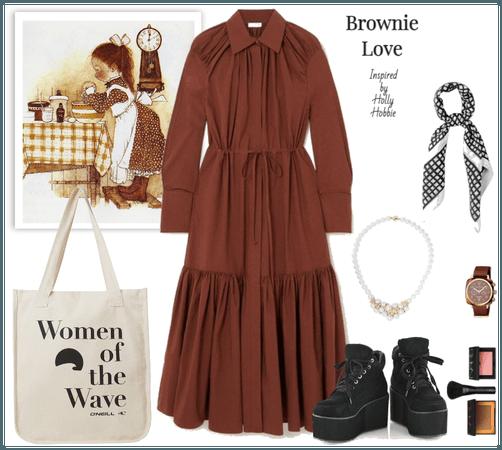 Brownie Love Inspired by Holly Hobbie
