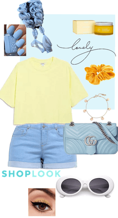 blue and yellow on mute