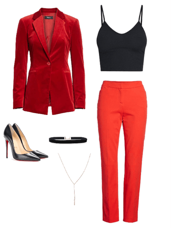 Inspired Outfit (Red Velvet)