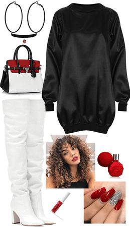 Set 100: Red Black White