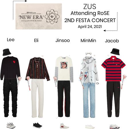 ZUS//Attending RoSE Festa Concert 2021