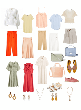 Summer office outfit