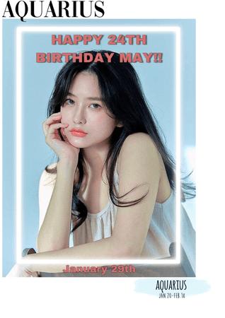 HEARTz//Happy Birthday May!