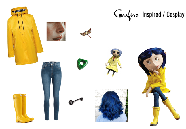 Coraline Inspired / Cosplay