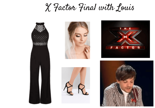 X Factor Final with Louis