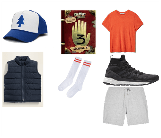 Dipper pines outfit (gravity falls)
